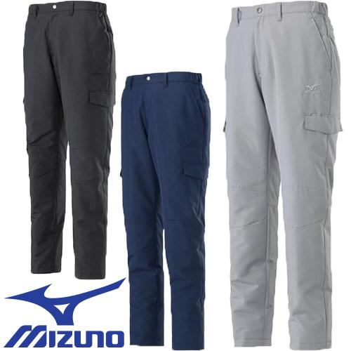 防寒パンツ ミズノ MIZUNO タフブレーカーウォーマーパンツ F2JF859105、F2JF859109、F2JF859114 作業着 防寒 作業服