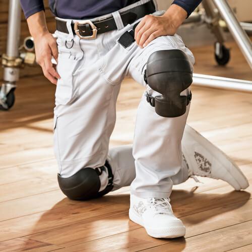 膝サポーター AITOZ アイトス ニーパッド(1枚入り 左右兼用タイプ) AZ-865922 膝用