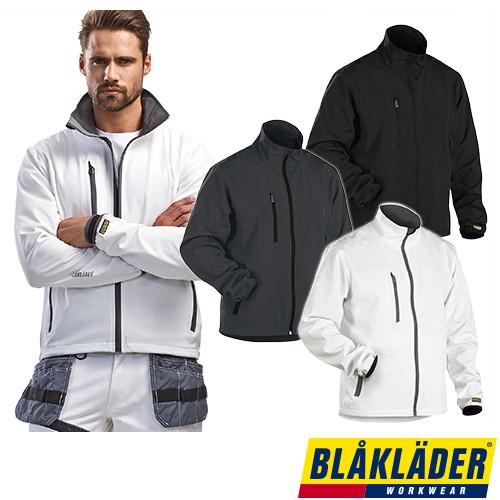 お買物マラソン期間中全品ポイント5倍以上 防寒ジャンパー ブラックラダー BLAK LADER LIGHT SOFTSHELL JACKET 4952-2518 作業着 防寒 作業服