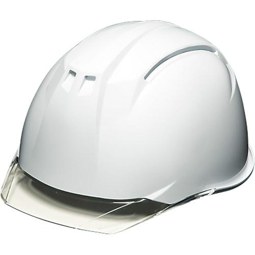 工事ヘルメットシールドヘルメットDICヘルメットAA11-CS型HA6E2-A11式通気孔無しシールド付きAA11EVO-CS工事用土木建築防災