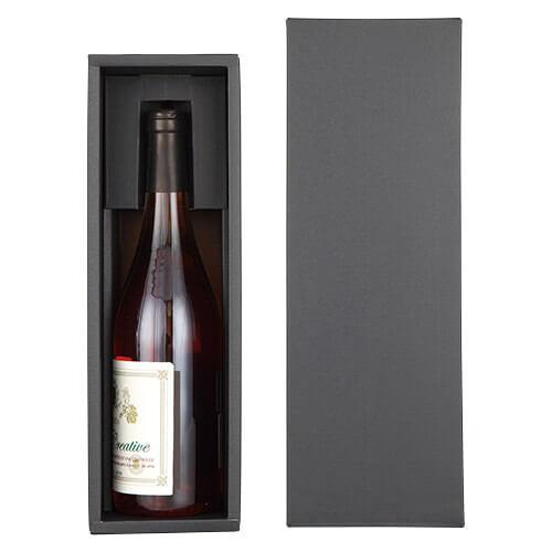 シャンパン・ワイン兼用1本箱 ZY938BK 【ギフトBOX】 ギフト 箱 包装用品 ワイン ギフト箱 シャンパン ギフトボックス シャンパーニュ スパークリングワイン 業務用 家庭用 1本用 ワインアクセサリー プレゼント 贈答用