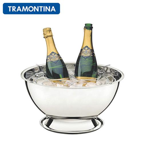 ワインクーラー ステンレス トラモンティーナ ワイン・シャンパンクーラー 4ボトル用 ND360ST