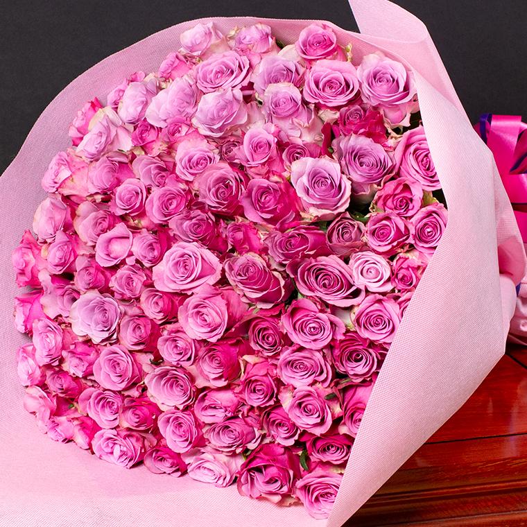 送料無料 バラの花束 90本 赤 白 黄 紫 ピンク ミックス で12時まで当日発送します 土曜営業 誕生日 結婚記念日 108本 100本 クリスマス 成人式 バレンタイン 本数指定 還暦 古希 喜寿