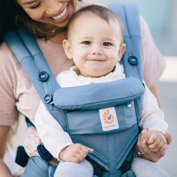 エルゴベビー Ergobaby OMNI360 クールエア オックスフォードブルー【送料無料】BCS 360POXBLUDAD 新生児から使える