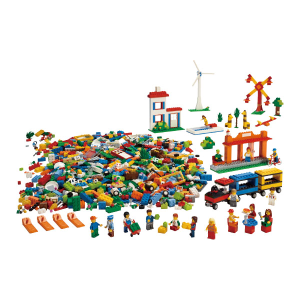 レゴ 楽しい遊園地セット/おもちゃ/ブロック/エデュケーション/知育玩具/オモチャ/カラフル/カラーブロック/遊具/子ども/子供/贈り物/お祝い/誕生日/プレゼント/男の子/女の子