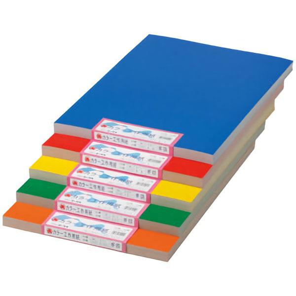 紙工作の定番品 人気 おすすめ カラー工作用紙 ※ラッピング ※ B3 あか 10枚入