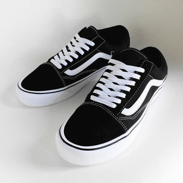 92c6330bc9c84c VANS  vans  OLD SKOOL LITE (SUEDE CANVAS)  BLACK WHITE  VN0A2Z5WIJU old  school light sneakers  suede canvas  (black   white) AHA