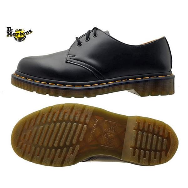 Dr.Martens [ドクターマーチン] 1461 3EYE GIBSON SHOE [BLACK] 3ホール ギブソンシュー (ブラック) レディース メンズ ユニセックス 短靴 AHA