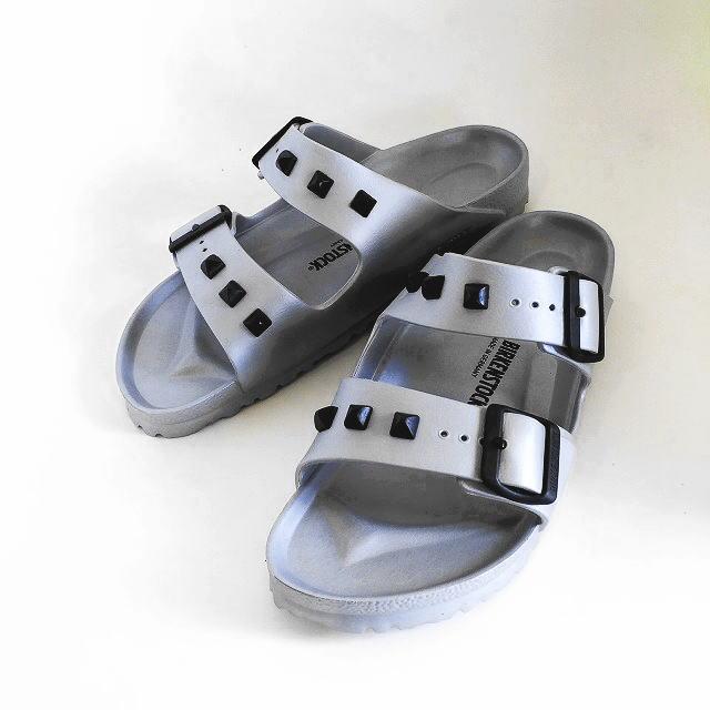 5f3aa4dbc0d0 BIRKENSTOCK  ビルケンシュトック  Arizona EVA  Studded Silver  Arizona Eve sandals  (studs silver) 1006840 AHS