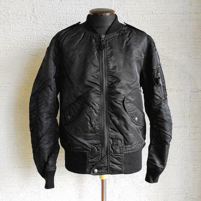 AVIREX [アビレックス] L-2B COMMERCIAL [BLACK] L-2Bコマーシャルジャケット(ブラック) 6152131 AIS アヴィレックス