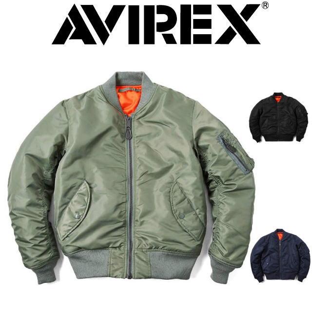 AVIREX [アビレックス] MA-1 COMMERCIAL [SAGE,BLACK,ROYAL] MA-1コマーシャル(セージ、ブラック、ロイヤル) 6132077 AIA アヴィレックス