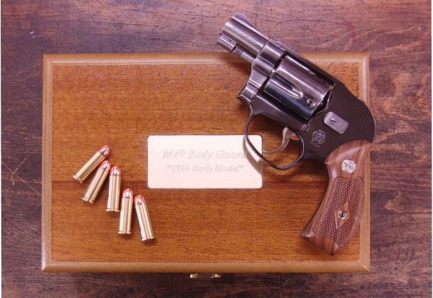 タナカ S&W M49 2インチ ボディーガード 1966 アーリーモデル ビンテージ ジュピター フィニッシュ デラックスセット モデルガン 【181SS15】
