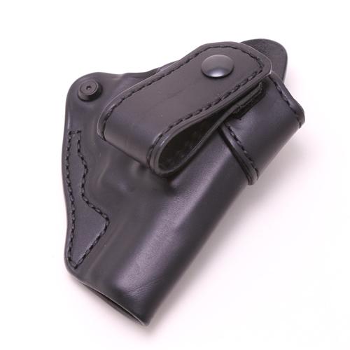 【再入荷】【送料無料】【BLACKHAWK!】 ブラックホーク レザーホルスター インサイドパンツホルスター 06 S&W Jフレーム用 右利き ブラック 本革【イタリア製】