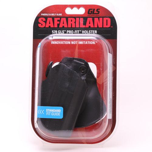 【フラットダークアース再入荷】【送料無料】【本物】サファリランド GLS プロフィット パドルホルスター (ブラック、フラットダークアース(FDE))【SAFARILAND サバゲー 装備】578