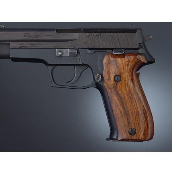 【グリップ】【ホーグ】 シグザウエル P226用 木製グリップ ココボロ 【実物】【Hogue】(SIG Sauer P226)(26810)【カスタム パーツ ミリタリー】