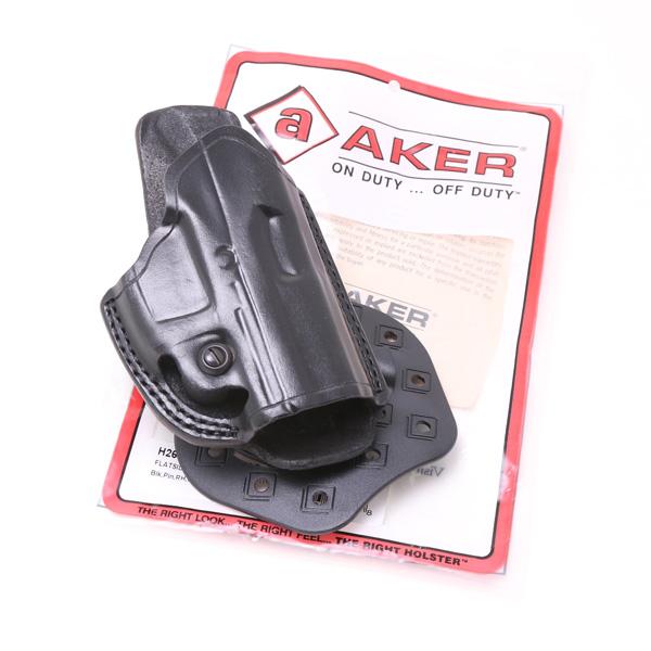 【再入荷】AKER エイカー フラットサイド パドルヒップ ホルスター H268ABPRU-HK40C