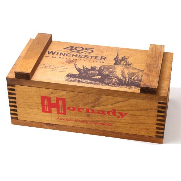 【マルチボックス】テディルーズヴェルト(セオドアルーズベルト)アモボックス(Ammo box)木製収納箱【Hornady】【インテリア・収納雑貨】