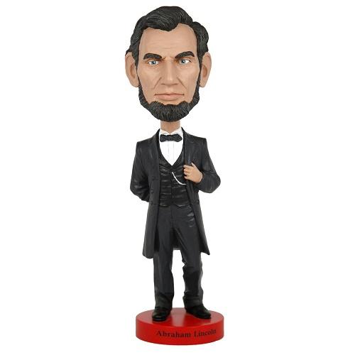エイブラハム・リンカーン(Abraham Lincoln) ボビングヘッド 大型 【Royal Bobbles ロイヤルボブルズ】【トイ おもちゃ フィギュア】 ◇ クリスマス プレゼント ギフト