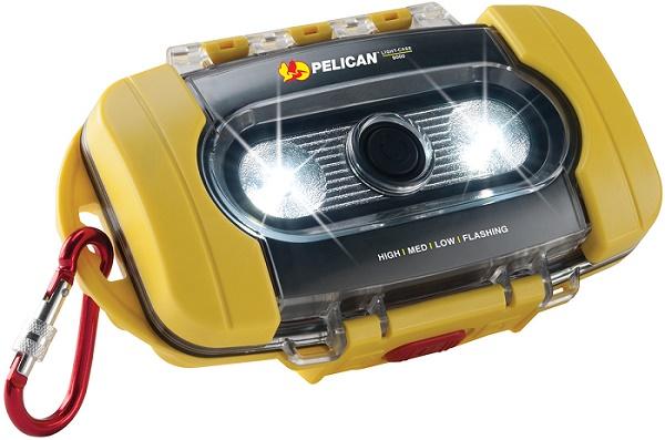 【防水・防塵・浮き箱】ペリカン ライトケース9000 イエロー(小物ケース)【Pelican】【アウトドア 釣り】