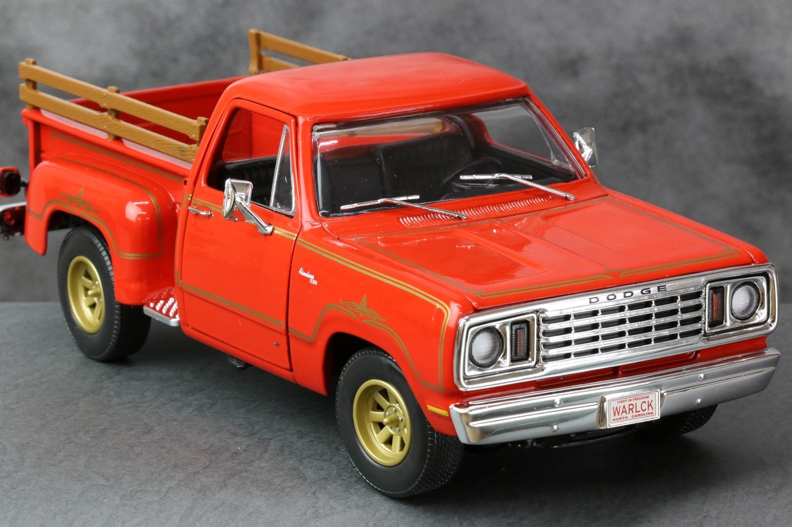 【AMERICAN MUSCLE】 アメリカンマッスル 1:18 1978 Dodge Warklock ダッジ ウォーロック 【181SS20】