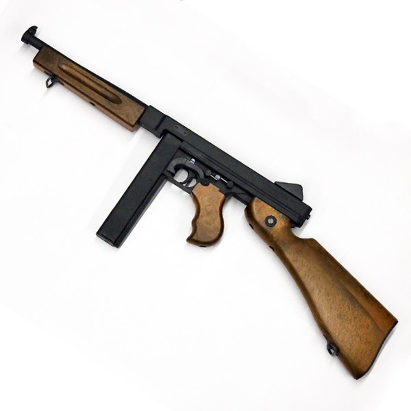 【サイバーガン】【ガスガン】トンプソン M1A1 GBB 6mmBB 【ガスブローバック ミリタリー サバゲー 機関銃】