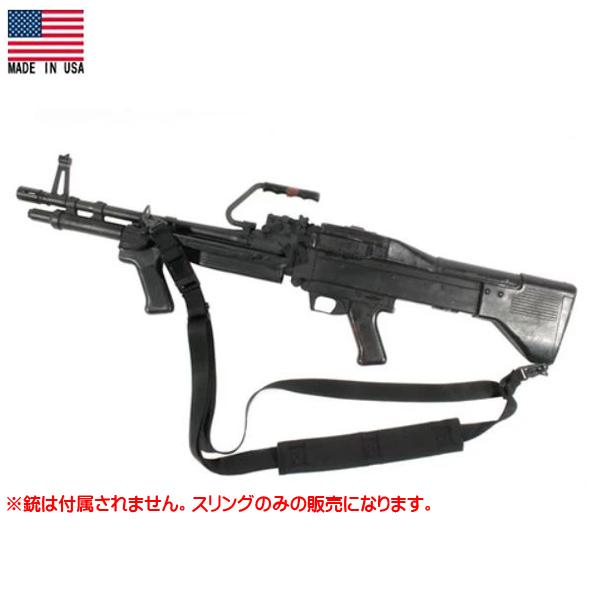 ブラックホーク スウィフト マシンガン 3ポイントスリング ブラック (70GS09BK) Made in USA [実物用] ■ BLACKHAWK! LMG M240 M60 機関銃 アサルトライフル