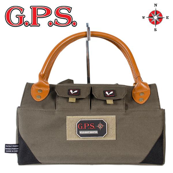 シェルを収納できるトートバッグ G.P.S. シューティング 再再販 バッグ シェルトート ■ オリーブグリーン ライフル サバゲー 上品 エアガン トイガン ミリタリー 狩猟銃アクセサリー