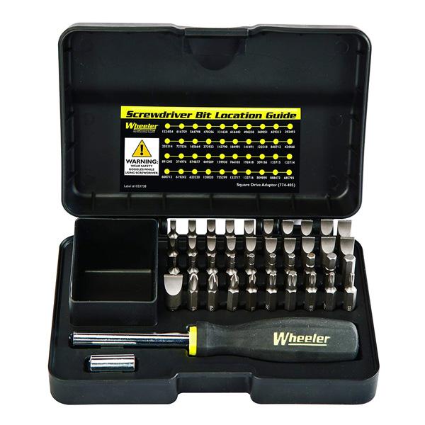 【ウィーラー】43ピース プロフェッショナル ガンスミシング スクリュードライバー セット (#954621) 【Wheeler 工具 メンテナンス カスタム ミリタリー ガン 銃】