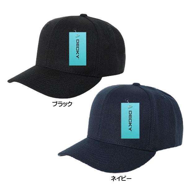 シンプル 無地 キャップ 帽子 デッキー ベースボール ブラック アウトドア 限定品 スポーツ 野球帽 DECKY ネイビー 期間限定 アパレル