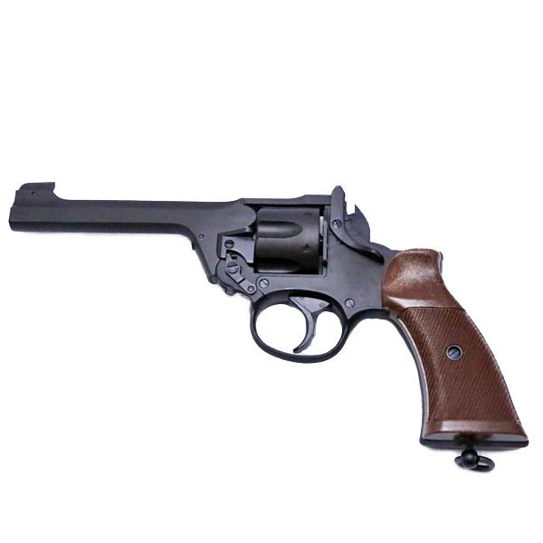 【マルシン】【モデルガン】エンフィールド No.2 Mk1 スター ブラック HW 完成品【Enfield Marushin リボルバー ミリタリー 銃 ガン】
