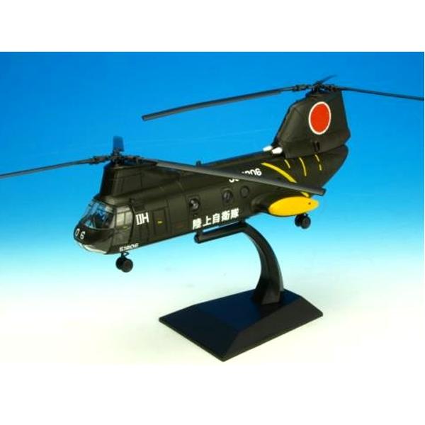 模型 KV-107 II A 陸上自衛隊 タイプ 1:72 スケール 完成品 ■ ヘリコプター ヘリ ミリタリー 軍用機 トイ ◇ クリスマス プレゼント ギフト