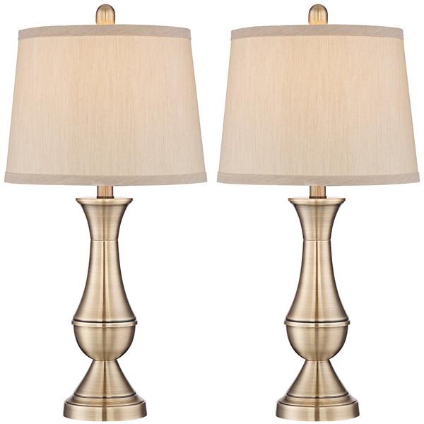 【再入荷】【在庫あり 即納】【アメリカ直輸入】【照明器具】テーブルランプ ゴールド 2個セット【スタンドライト スタンド照明】