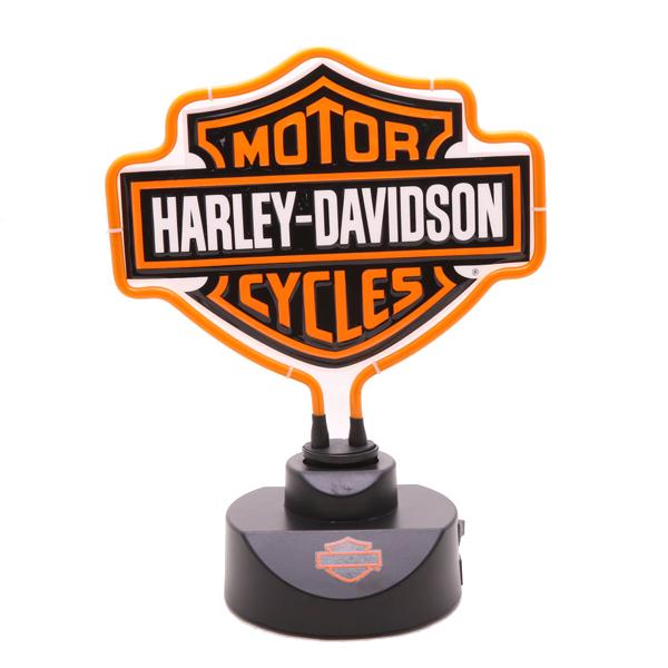 【送料無料】【Harley-Davidson】 ハーレーダビッドソン ネオン テーブルランプ 【インテリア】 バー&シールド