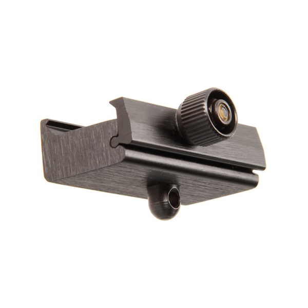 【BLACKHAWK(ブラックホーク)】SPORTSTER バイポッド取付用アダプター(20mmピカティニーレイル用) ブラック(71RA01BK)【ミリタリー エアガン ライフル シューティング サバゲー】
