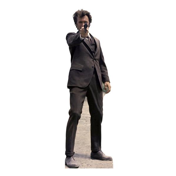 【即納!在庫あり 追加入荷】(ダーティハリー)クリント・イーストウッド 約190cm 等身大パネル ダンボール製 組立式【アメリカ直輸入】【インテリア ディスプレイ】
