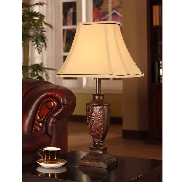 【在庫・即納・送料無料】【インテリア 照明器具】テーブルランプ2個セット レッドブラス仕上げ 【寝室 リビング テーブルライト】 【181SS30】