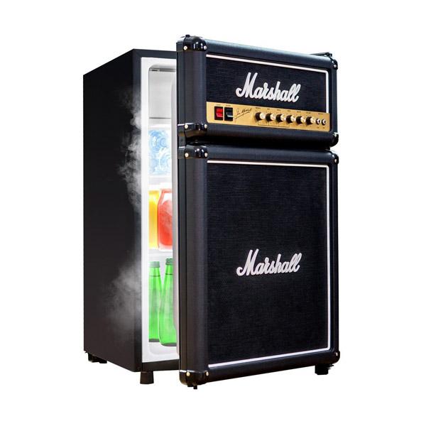 (アメリカ直輸入)【並行輸入品】【Marshall (マーシャル)】アンプ風 小型冷蔵庫 【家電 冷蔵 冷凍】
