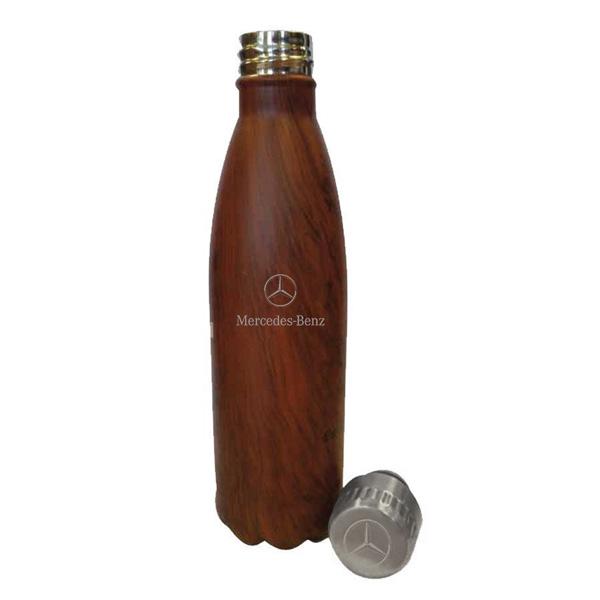 【BENZ】 ベンツ 木目調 ウォーターボトル 470ml 【ドリンク 水筒 飲み物 ボトル】