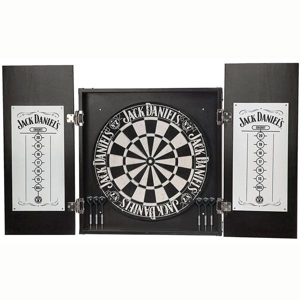 【送料無料】【Jack Daniel's】 Old No.7 ダーツボード キャビネット セット 【ジャックダニエル ダーツ 木製】 【184SS15】