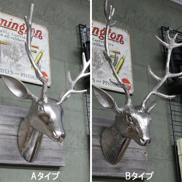シカ ウォールハンギング オブジェ【インテリア 壁掛け 鹿 ヘッド】【181SS10】