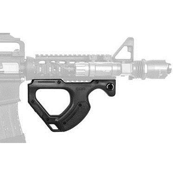 【HERA ARMS】フロントグリップ CQR ブラック ドイツ製【ヘラ ミリタリー サバゲー】