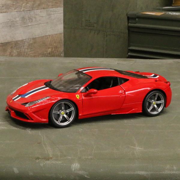 【フェラーリ】【ミニカー】458 スペチアーレ 1/18スケール レッド【Ferrari ダイキャスト bburago】