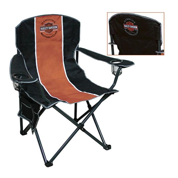 【ハーレーダビッドソン】【チェア】 バー&シールド 折りたたみチェア 【Harley-Davidson アウトドア 椅子】