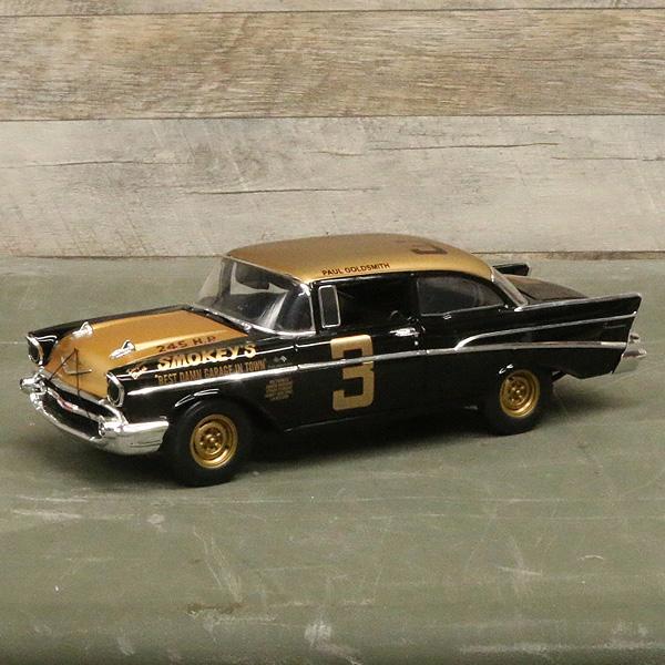 【ミニカー】1957 シェビー デイトナ トリビュートカー 1:18スケール アクメ 【CHEVY daytona tribute car ACME】