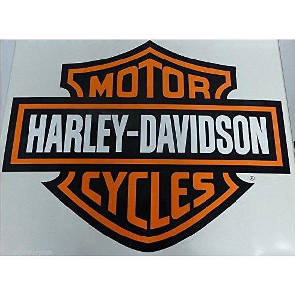 【ハーレーダビッドソン】【ステッカー】バー&シールド ロゴ ビッグ デカール 75cm×94.5cm【Harley-Davidson 雑貨 シール バイク】
