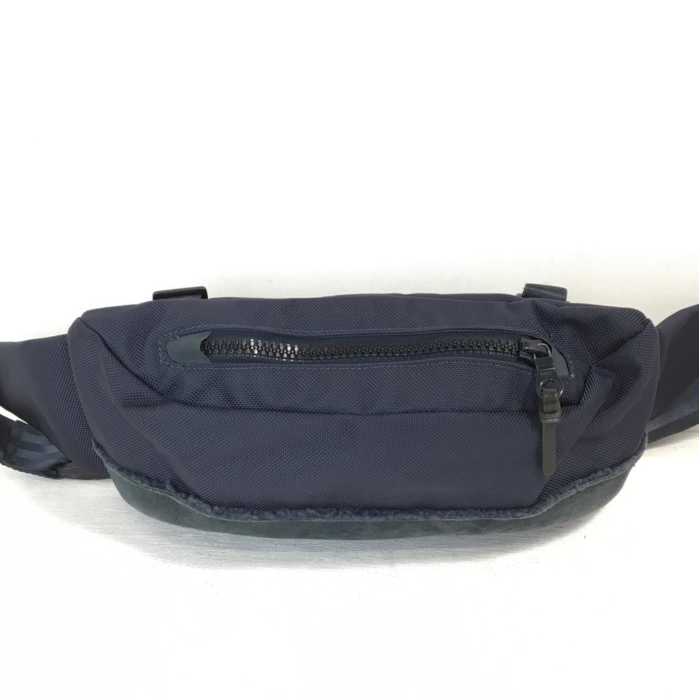 【中古】【メンズ】VISVIM ヴィスヴィム BALLISTIC LUMBARMINI ウエストポーチ ボディBAG カバン 鞄 カラー:ネイビー 紺