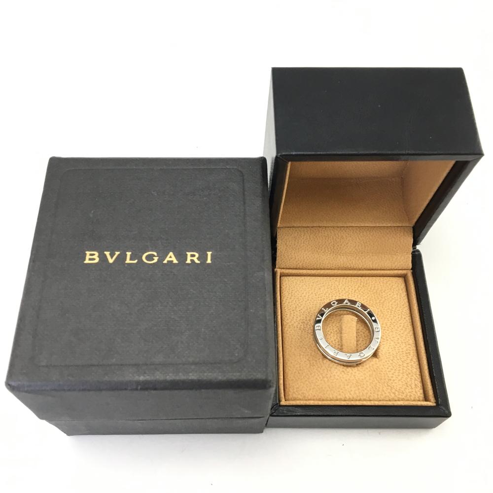 premium selection 96307 6b8f1 【送料無料】【ケース・箱付き】【中古】【メンズ】BVLGARI B-ZERO 1 K18WG 750 リング 指輪 ブルガリ ...