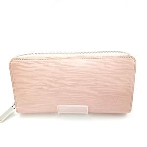 【中古】【レディース】LOUIS VUITTON ルイ・ヴィトン エピ ラウンドファスナー ジッピーウォレット 財布 ウォレット M61374 CA0176  カラー:ローズナクレ ピンク