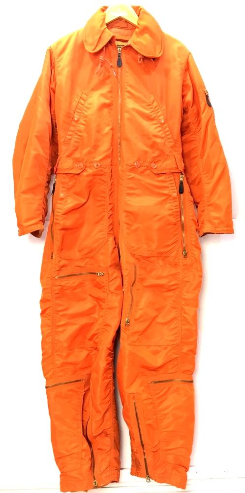 【中古】【メンズ】OLIVEHILL MANUFACTURING オリーブヒルマニュファクチャリング 60's~頃 オールインワン サイズ:S レングス:26 カラー:オレンジ 万代Net店