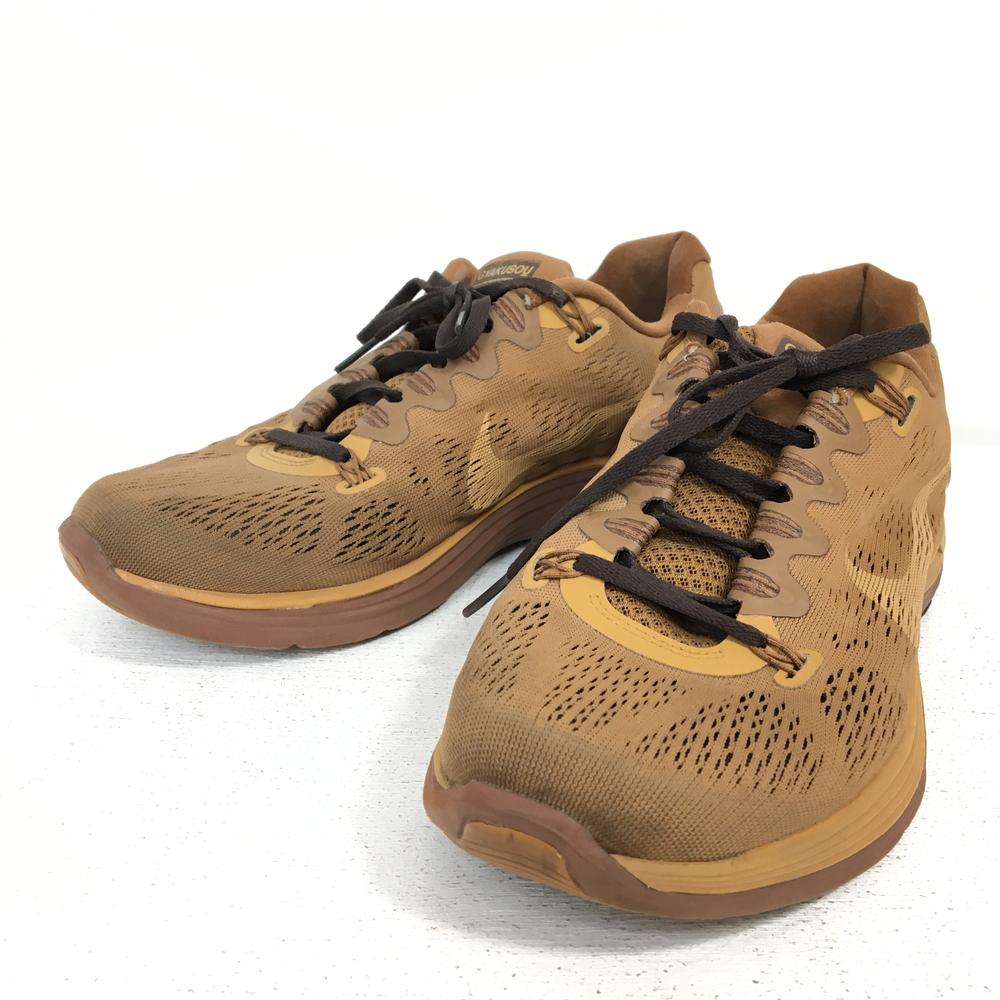【中古】【メンズ】NIKE X UNDERCOVER GYAKUSOU LUNARGLIDE+ 5 ナイキ ギャクソウ 626770-222 スニーカー カジュアルシューズ 靴 カラー:ブラウン 茶 サイズ:26.5cm 万代Net店